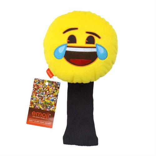 Emoji headcover - Laughing